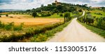 panorama of traditional farm... | Shutterstock . vector #1153005176