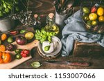 mozzarella or burrata cheese  ... | Shutterstock . vector #1153007066