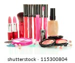 beautiful decorative cosmetics  ... | Shutterstock . vector #115300804