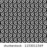 seamless pattern with circles... | Shutterstock .eps vector #1153011569