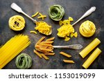 Various Types Of Dry Pasta  ...