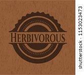 herbivorous wooden signboards   Shutterstock .eps vector #1153023473