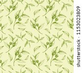 vector seamless pattern with... | Shutterstock .eps vector #1153023809