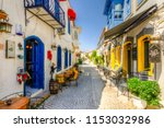 alacati  turkey   may 22  2018  ... | Shutterstock . vector #1153032986