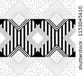 seamless geometric background... | Shutterstock .eps vector #1153045610