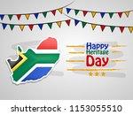 illustration of south africa...   Shutterstock .eps vector #1153055510