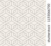 vector seamless pattern. modern ... | Shutterstock .eps vector #1153066700