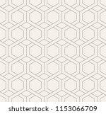 vector seamless pattern. modern ... | Shutterstock .eps vector #1153066709