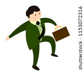 isolated businessman icon | Shutterstock .eps vector #1153072316