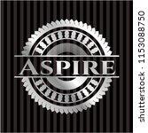 aspire silvery badge | Shutterstock .eps vector #1153088750