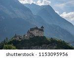 gutenberg castle  liechtenstein | Shutterstock . vector #1153095956