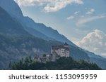 gutenberg castle  liechtenstein | Shutterstock . vector #1153095959