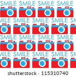 cute photography pattern design....