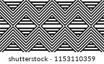 seamless pattern with striped... | Shutterstock .eps vector #1153110359