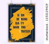 inspiring motivation quote... | Shutterstock .eps vector #1153119419