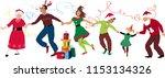 three generation family in... | Shutterstock .eps vector #1153134326