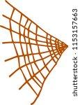 illustration of colorful spider ... | Shutterstock .eps vector #1153157663