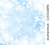 winter background with some... | Shutterstock . vector #115316896