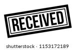 received typographic stamp | Shutterstock .eps vector #1153172189