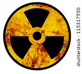 Nuclear Sign Representing The...