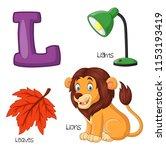 illustration of l alphabet   Shutterstock .eps vector #1153193419