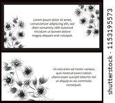 romantic wedding invitation...   Shutterstock .eps vector #1153195573