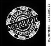 moonlight chalk emblem written...   Shutterstock .eps vector #1153205713