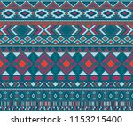 peruvian american indian... | Shutterstock .eps vector #1153215400