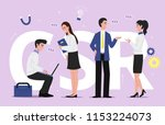 scr corporate social... | Shutterstock .eps vector #1153224073