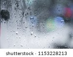 close up of  frosted glass...   Shutterstock . vector #1153228213