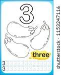 printable worksheet for... | Shutterstock .eps vector #1153247116