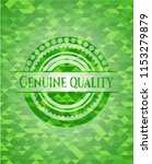 genuine quality green mosaic... | Shutterstock .eps vector #1153279879