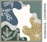 beautiful color scarf design | Shutterstock .eps vector #1153284310