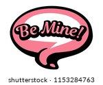 bright pink vector speech... | Shutterstock .eps vector #1153284763