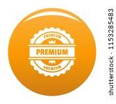 premium logo. simple... | Shutterstock .eps vector #1153285483