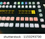 switch button for video editing ... | Shutterstock . vector #1153293730