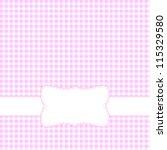 Pink Retro Frame.