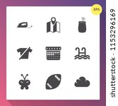 modern  simple vector icon set... | Shutterstock .eps vector #1153296169