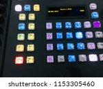 switch button for video editing ... | Shutterstock . vector #1153305460
