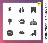 modern  simple vector icon set... | Shutterstock .eps vector #1153307170