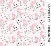 Cute Piggy Ballerina Pattern