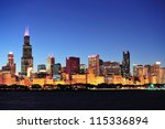 Chicago City Downtown Urban...