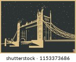 Vector London Tower Bridge
