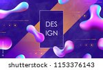 abstract composition. text... | Shutterstock .eps vector #1153376143
