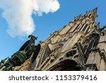 basilica of saint epvre in... | Shutterstock . vector #1153379416