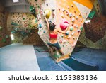 strength and endurance training.... | Shutterstock . vector #1153383136