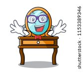 geek dressing table character... | Shutterstock .eps vector #1153389346