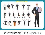 people character business set... | Shutterstock .eps vector #1153394719
