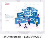 engineering  programmer... | Shutterstock .eps vector #1153399213