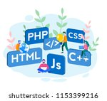engineering  programmer... | Shutterstock .eps vector #1153399216
